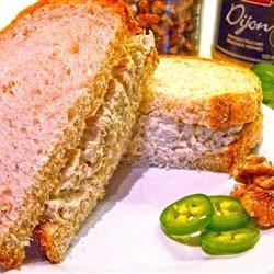 Tuna Dijon Walnut Sandwich