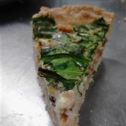 Savory Spinach, Bacon, and Cheddar Cheese Quiche