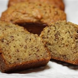 Banana Banana Bread Recipe - This banana bread recipe is moist and delicious, with loads of banana flavor. It's wonderful toasted!