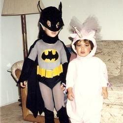 Homemade Halloween costumes circa 1989