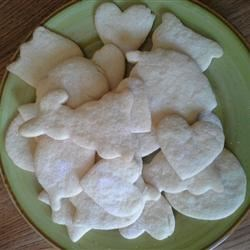 Roll About Sugar Cookies Recipe - These cookies are thick and bake up really soft. Great for cut out cookies.