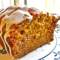 Pumpkin Bread I Recipe - This better-for-you version of pumpkin bread substitutes applesauce for the vegetable oil.