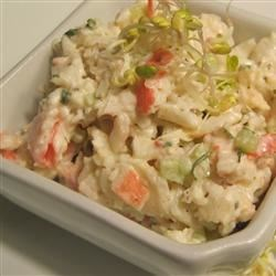 Crab Salad Recipe - Serve this crab and celery salad on crackers, lettuce or stuff it in puff pastry shells.