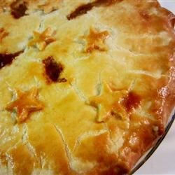 Scottish Mince Pie Recipe - My mother-in-law made this pie in Scotland. I serve it with boiled parsley potatoes and a nice salad.