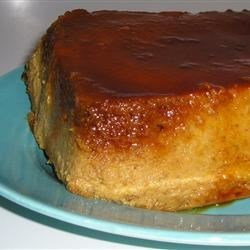 Pumpkin Pie Flan