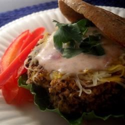 Black Bean Rice Burgers