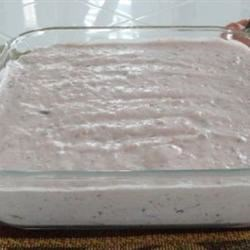 Grandmother's Frozen Cranberry Salad