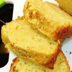 Eggnog Quick Bread Recipe - This eggnog bread is delicious served with coffee or for Christmas breakfast.