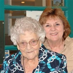 My Mother and 100 year old Grandmother