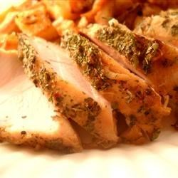 Slow Cooker Boneless Turkey Breast Recipe and Video - A whole turkey breast simmered in the slow cooker with a few simple pantry herbs and seasonings makes the perfect fix-it-and-forget-it holiday main dish.