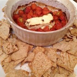 Barbecue Tomatoes and Feta Melt