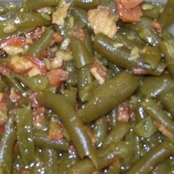 Grandma Judy's Green Beans & Bacon