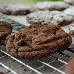 Spicy Double Chocolate Crinkles