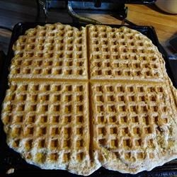 Almond Coconut Waffles