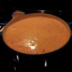 West African Peanut Stew Recipe - This hearty stew is super-easy to make and great for peanut butter lovers. Can be made vegetarian or with chicken.