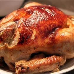 Juicy Thanksgiving Turkey Recipe - My grandmother and mother passed this recipe on to me. It changes just a little every year, because we've never written it down before. But it is always incredibly juicy and succulent!