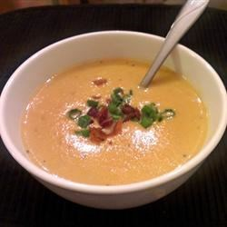 Dark Beer Cheese Soup