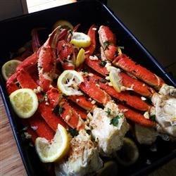 snow crab cluster bake