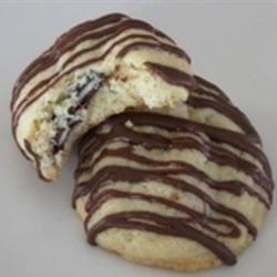 Minty Mocha Surprise Cookies