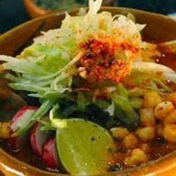 Zena's Best Vegetarian Posole Rojo