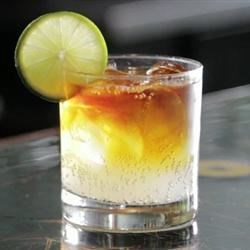 Dark 'n' Stormy Cocktail Recipe - Popular within the sailing community, the dark 'n' stormy is also the national drink of Bermuda. The simple mixture of dark rum and ginger beer makes for a great cocktail in any weather.
