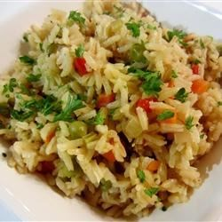 how to make rice pilaf on stove