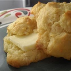 Grandma's Baking Powder Biscuits Recipe - Easy drop biscuits made with simple ingredients bake up golden brown in just a few minutes.