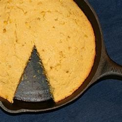 Healthier Grandmother's Buttermilk Cornbread Recipe - Grandmother's traditional sweet and moist cornbread is made healthier by using low-fat diary products, reducing the sugar, and adding whole corn.