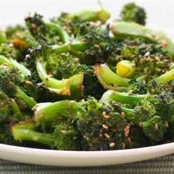 Lemon Peppered Broccoli