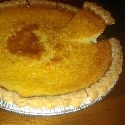 Vida's Famous Buttermilk Pie