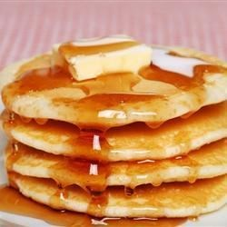 Fluffy Pancakes (Jared Wants Extra Mix in Fridge Leftover)