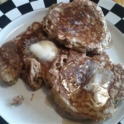 Whole Wheat Apple Pancakes with Brown Sugar Glaze Recipe - These pancakes are a healthy alternative to traditional recipes. Serve them warm with a homemade brown sugar syrup. For the apples, be sure to use a firm baking variety such as Cortland or Granny Smith.