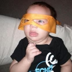 Silas (Michaelangelo.....the 5th Ninja Turtle)