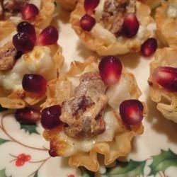 Gorgonzola - Pear Tartlets
