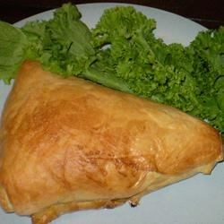 Baked Brie & Mustard in Puff Pastry