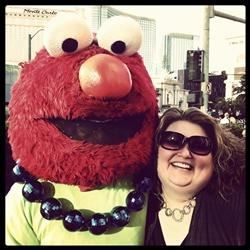 Amber and Elmo