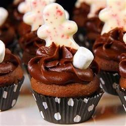 Chocolate Fudge Mini Cupcakes
