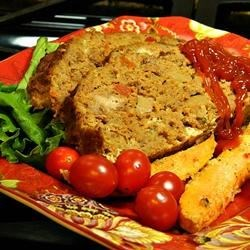 Christine's Meat Loaf Recipe - Try this easy mix-and-bake recipe for meat loaf if you like having nice firm slices for meat loaf sandwiches.