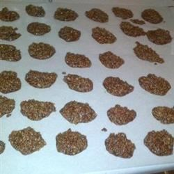 Grandma Wright's No Bakes Recipe - Chocolate, peanut butter, and oatmeal are the primary components of these no-bake cookies everyone will love.