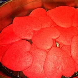 Fruity Cookie Press Cookies Recipe - Cookie press cookie made with any flavor of gelatin.