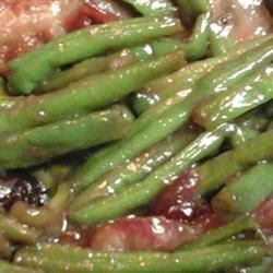 Green Beans w/ Cranberries