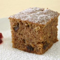 Oatmeal Cake II Recipe - This a quick cake that 's hearty enough to serve for breakfast or brunch.