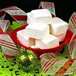 Holiday Peppermint Marshmallows