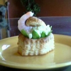 Shrimp & Crab Salad in Puff Pastry Shell