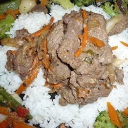Bulgogi (Korean Barbecued Beef)