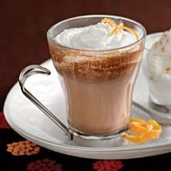 Orange Mocha Recipe - Add some sweet citrus to your coffee drink through the introduction of orange juice.