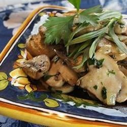 Mushroom Saute Recipe - Fresh mushrooms with savory herbs make this a perfect side dish for grilled meat, chicken or fish.