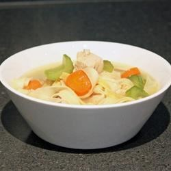 Butterball Soup Recipe - Tender little bread dumplings in a chicken broth make this a special treat.