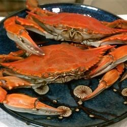 Steamed Blue Crabs And Beer steamed blue crabs recipe - allrecipes.com