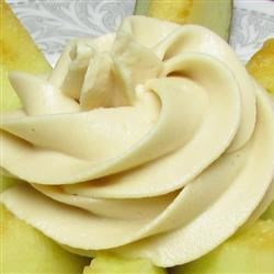 Cream Cheese Fruit Dip Recipe - Cream cheese, brown sugar, and vanilla extract are all you need to whip together a sweet fruit dip. Serve alongside your favorite fruit.
